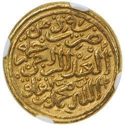 DELHI: Muhammad III, 1325-1351, AR dinar (12.79g), Hadrat Delhi, AH727. NGC MS63