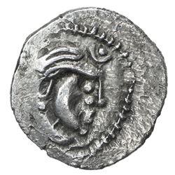 SIND: Yashaditya, 7th century, AR damma (0.75g). VF-EF
