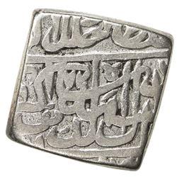 MUGHAL: Akbar I, 1556-1605, AR square rupee (10.91g), NM, AH972. F