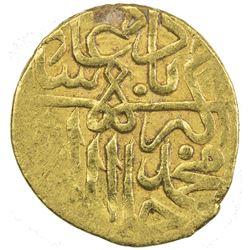 MUGHAL: Akbar I, 1556-1605, AV 1/12 mohur (0.94g), ND. VF