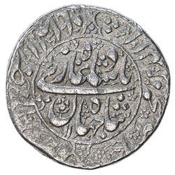 MUGHAL: Shah Jahan I, 1628-1658, AR rupee (11.41g), Akbarabad, AH1048 year 11. VF