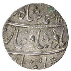 MUGHAL: Muhammad Shah, 1719-1748, AR rupee (11.68g), Junagadh, AH116x year 5. EF