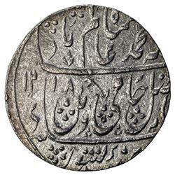 MUGHAL: Shah Alam II, 1759-1806, AR rupee (11.02g), Dar al-Surur Saharanpur, AH1218 year 45. EF