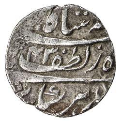 AWADH: Nasir-ud-Din Haidar, 1827-1837, AR 1/4 rupee (2.67g), Lucknow, AH1243 year one (ahad). VF