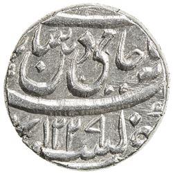 "AWADH: Brijis Qadr, 1857-1859, AR rupee (11.16g), Subah, AH""1229"". EF"