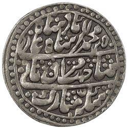 JAIPUR: AR nazarana rupee (11.26g), Sawai Jaipur, AH1250 year 28. EF