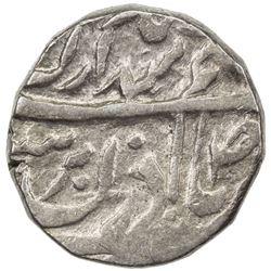 "JIND: Gajpat Singh, 1763-1789, AR rupee (10.99g), ""Sahrind"", ND. VF"