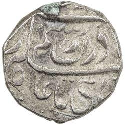 """JIND: Raghubir Singh, 1864-1887, AR rupee (11.01g), """"Sahrind"""", ND. VF"""