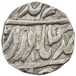 "JIND: Ranbir Singh, 1887-1947, AR rupee (10.83g), ""Sahrind"", ND. VF-EF"