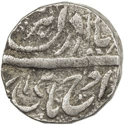 "JIND: Ranbir Singh, 1887-1947, AR rupee (11.03g), ""Sahrind"", ND. VF-EF"