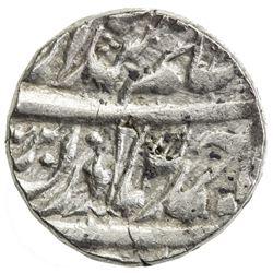 "KAITHAL: Lal Singh, 1781-1819, AR rupee (11.15g), ""Sahrind"", VS185(1) (retrograde). VF"