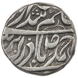 "KAITHAL: Uday Singh, 1824-1843, AR rupee (11.05g), ""Sahrind"", ND. VF-EF"