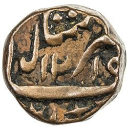 KALSIA: Jodh Singh, 1785-1818, AE 1/2 paisa (10.54g), Chhachrauli, AH1215 year 42. VF-EF