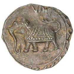 MYSORE: Tipu Sultan, 1782-1797, AE paisa (11.41g), Farrukhyab-Hisar, AM1217. EF