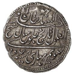MYSORE: Tipu Sultan, 1782-1799, AR rupee (11.41g), Patan, AM1218 year 8. EF
