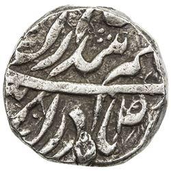 "NABHA: Hamir Singh, 1755-1783, AR rupee (11.05g), ""Sahrind"", AH[11]81. VF-EF"