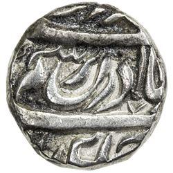 """NABHA: Hamir Singh, 1755-1783, AR rupee (10.91g), """"Sahrind"""", ND. EF"""