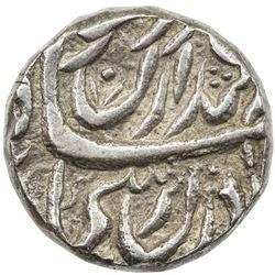 "NABHA: Hamir Singh, 1755-1783, AR rupee (11.16g), ""Sahrind"", ND. VF"