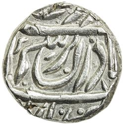 NABHA: Jaswant Singh, 1783-1840, AR rupee (11.01g), Nabha Lal, VS(18)84. EF