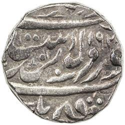 NABHA: Hira Singh, 1871-1911, AR rupee (10.87g), Nabha Lal, VS1928. VF-EF