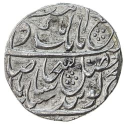 SIKH EMPIRE: AR rupee (11.14g), Lahore, VS1857. EF-AU