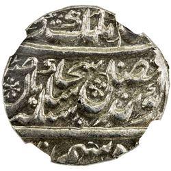 SIKH EMPIRE: AR rupee, Lahore, VS1882. NGC MS64