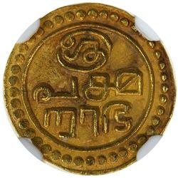 TRAVANCORE: Rama Varma III, 1829-1847, AV tulabharam pagoda, ND. NGC MS63