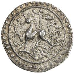 TRIPURA: Jaya Manikya, 1573-1577, AR tanka (10.64g), SE1495. VF