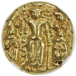 MADRAS PRESIDENCY: Anonymous, ca. 1691-1740, AV pagoda. NGC AU55