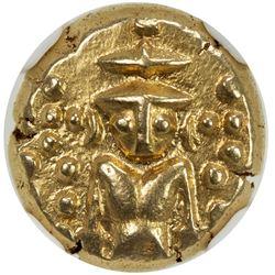 MADRAS PRESIDENCY: Anonymous, ca. 1740-1807, AV pagoda. NGC AU55