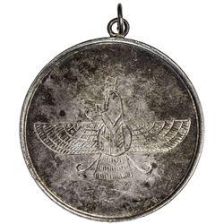 BRITISH INDIA: AR medal, 39mm, Farr-e Kiyani (Faravahar), EF