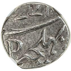 FRENCH INDIA: MAHE: AR fanon, 1771. NGC AU58