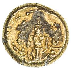 PULICAT: Anonymous, ca. 1760-1767, AV pagoda (3.40g). VF-EF