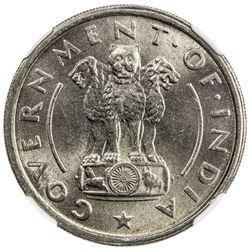 INDIA: Republic, rupee, 1954(b). NGC MS64
