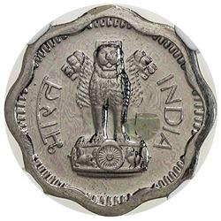 INDIA: Republic, 2 naye paise, 1962(b). NGC PF62