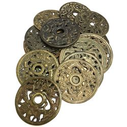 CHINA: LOT of 15 Qing dynasty openwork charms