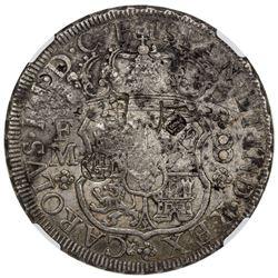 MEXICO: Carlos III, 1759-1788, AR 8 reales, 1771-Mo. NGC VF