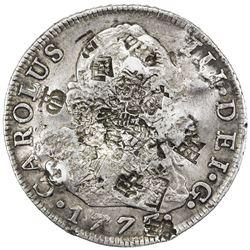 SPAIN: Carlos III, 1759-1788, AR 8 reales, 1773-M. VF