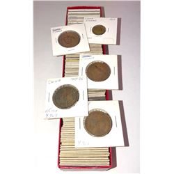 CHINA: LOT of 100 Chinese coins, all from the same collection, many interesting types
