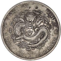 SZECHUAN: Kuang Hsu, 1985-1908, AR dollar, ND (1901-08). F-VF