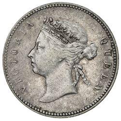HONG KONG: Victoria, 1841-1901, AR 50 cents, 1894. VF