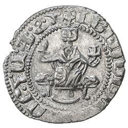 ARMENIA: Levon I, 1198-1219, AR tram (3.01g). EF
