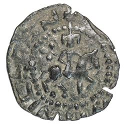 ARMENIA: Post-Roupenian, 13th/14th century, AE unit (1.71g). VF