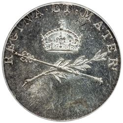AUSTRIA: Leopold II, 1790-1792, AR jeton, Prague, 1791. ICG MS61