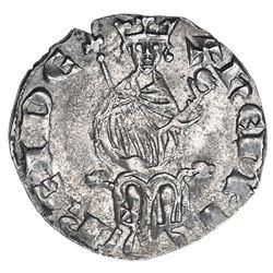 KINGDOM OF CYPRUS: Henry II, 1285-1324, AR gros (4.61g). EF