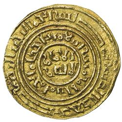KINGDOM OF JERUSALEM: AV bezant (3.69g). EF