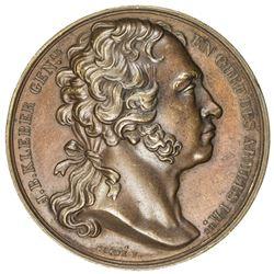 FRANCE: AE medal (35.67g), 1800. EF