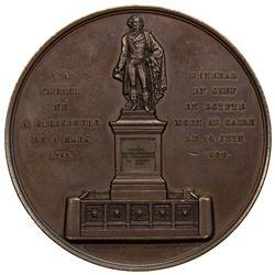 FRANCE: AE medal (88.90g), 1840. AU