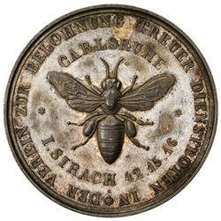 BADEN: AR medal, 1846. UNC