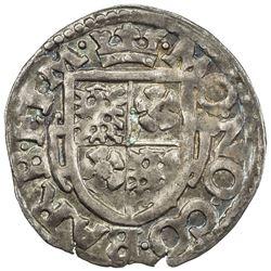 BARBY: AR 1/24 thaler, 1617. UNC
